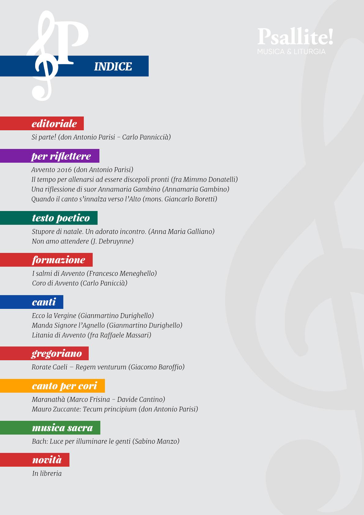 Calendario Liturgico Maranatha.Psallite La Nuova Rivista Online Di Musica Liturgica