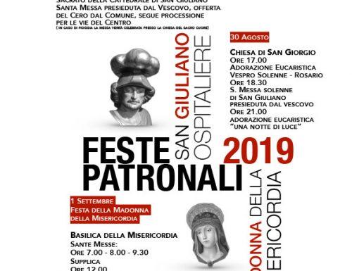Feste Santi Patroni 2019